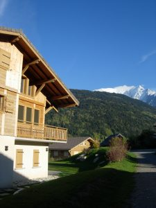 location chalet Mont Blanc